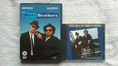 The Blues Brothers DVD R2 + ORIGINAL MOTION PICTURE CD SOUNDTRACK GC FAST POST