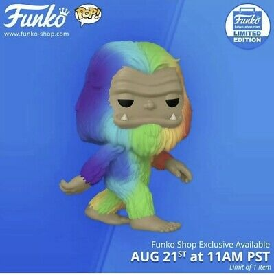 Funko Pop! Myths Rainbow Bigfoot CONFIRMED PREORDER & FREE SHIP