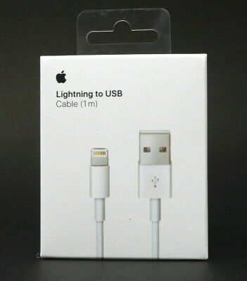 Genuine OEM Apple iPhone Plus Lightning to USB Charger Cable 1M/3Ft Length