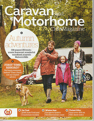 October 2017 - Caravan And Motorhome Club Magazine - Touring: South-West