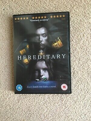 Hereditary  with Toni Collette Mint Condition (DVD  2018)