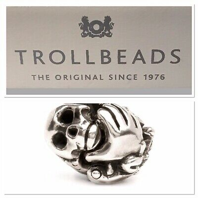 Authentique TROLLBEADS Argent Sterling 11311 Teddy Bear Argent