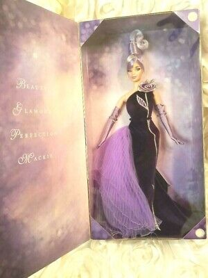 2001 The Sterling Silver Rose Bob Mackie Barbie Doll Avon Collector Edition