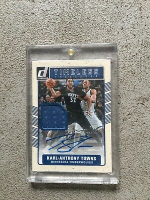 Karl-Anthony Towns Auto Game Used