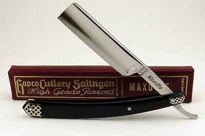 """Maxotte Solingen Straight Razor 6/8"""" with original box NOS - Honed Shave Ready"""