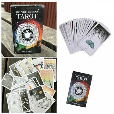 78pcs the Wild Unknown Tarot Fortune Telling Card Deck Rider-Waite Oracle P0B9H