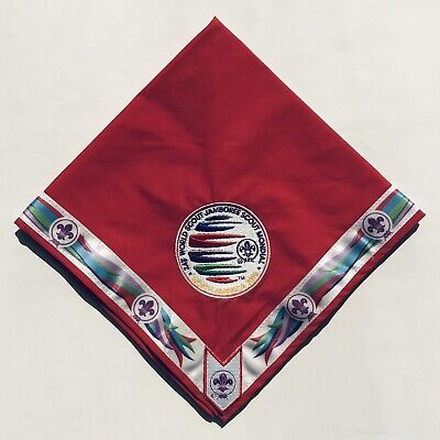 24th World Scout Jamboree 2019 Youth Participant SET Neckerchief + Patch WSJ New