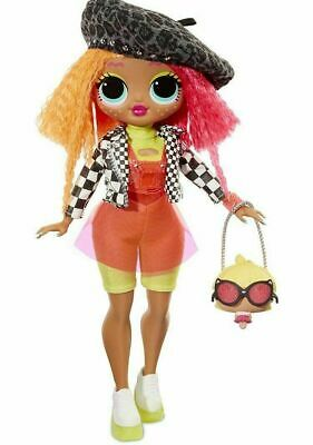 "LOL Surprise OMG SerieS 1 NEONLICIOUS 10"" Big Sister Fashion Doll - 20 Surprises"
