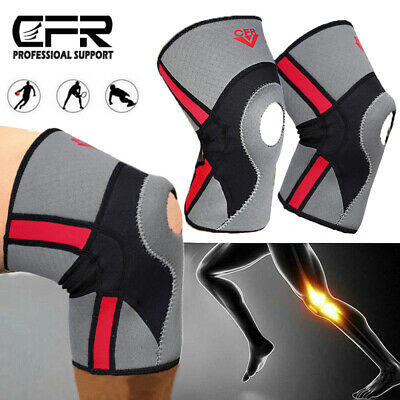 Knee Support Stabilizer Pads Joint Power Lift Patella Arthritis Sports Pad pair
