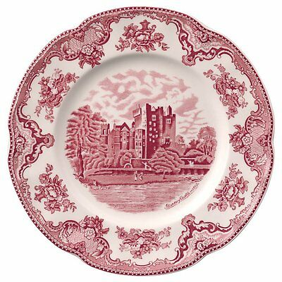 Johnson Brothers Old Britain Castles Pink Dinner Plates SET OF 4 NEW