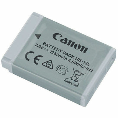 Canon NB-13L Lithium-Ion Battery Pack (3.6V, 1250mAh) -new came with my camera