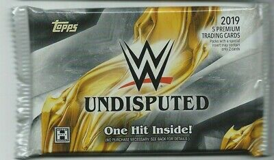 2019 Topps Undisputed Wwe Guaranteed Autograph Shirt Hot Pack Auto Rousey?