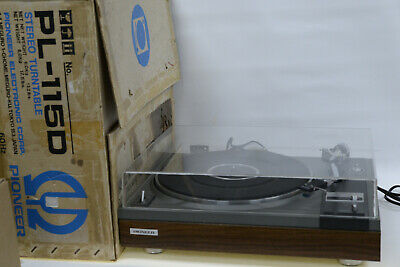 Pioneer PL-115D  Auto-Return Classic HiFi Stereo Turntable Record Player + Box