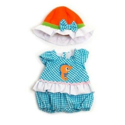 Miniland Light Romper with Hat Set for 32cm Doll