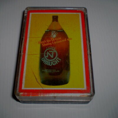 Pack of older beer playing cards  -  Northern Territory Draught (Darwin stubby)