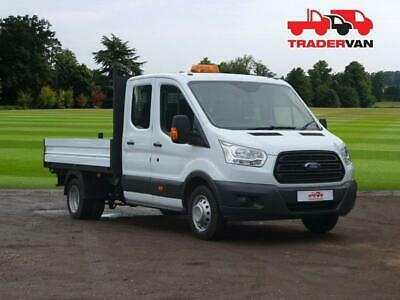 2017 FORD Transit 350 Euro 6 Double Cab Tipper LWB 130PS L3 DIESEL MANUAL