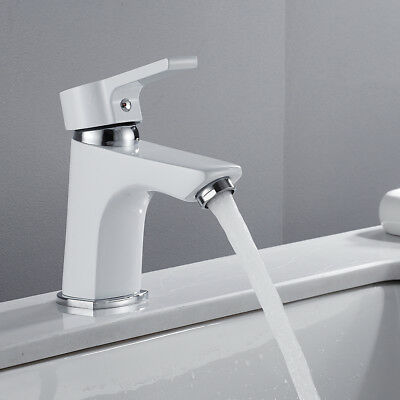 Luxury Bathroom Basin Faucet Sink Single Hole Waterfall Spout Mixer Tap