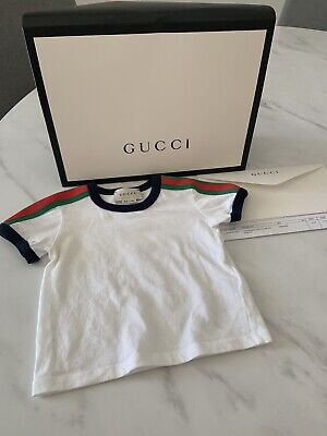 Gucci Baby Shirt With Receipt! Current Season