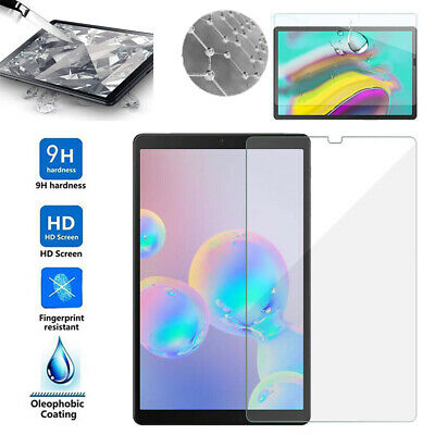 For Samsung Galaxy Tab S6 10.5 T860 HD Clear Tempered Glass Screen Protector