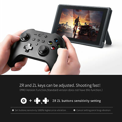 Gulikit Wireless Bluetooth Remote Game Controller For PC Switch android Window