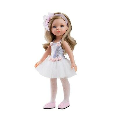 Paola Reina Doll Carla Ballerina 32cm Vanilla Scented Gift Boxed New 04447