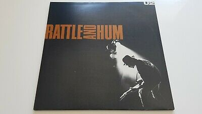 U2 ‎– Rattle And Hum STUNNING NM/EX 1988 UK Press 2 x Vinyl LP Rock Pop Alt Rock