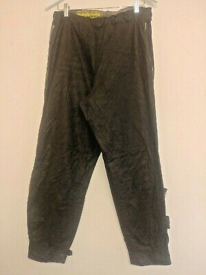 "Barbour vintage 1950s International Wax Cotton Biker over Trousers 34"" Waist"