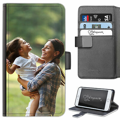 Personalised Photo Phone Case, Leather Flip Cover For Apple/Samsung/Sony Phone