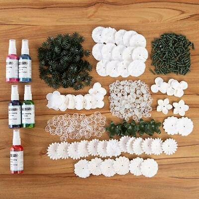 CRAFT BUDDY Forever Flowerz WONDERFUL WHITES FLOWER KIT  + Pretty Amazing AUTUMN