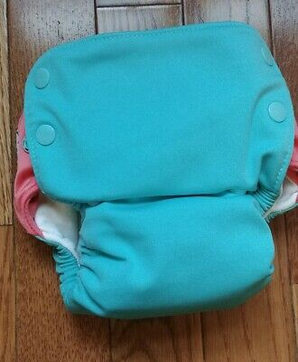 Grovia AIO HTF Wacky Deux Cheery Organic Cotton Cloth Diaper