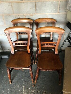 solid Hardwood  chairs used