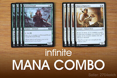 INFINITE CARD DRAW Combo / Primodial Cowadice (Blue Green
