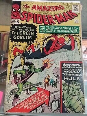 Amazing Spider-man #14 1st Appearance Of The Green Goblin