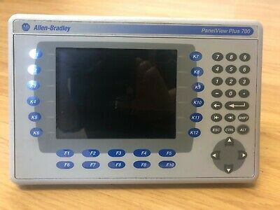 Allen Bradley PanelView Plus 700 used in perfect working order.