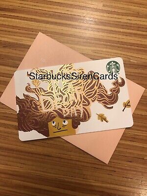 Fall Starbucks 2019 Gift Card 'Not A Decaf Day'  Recycled #6169 Collectible New