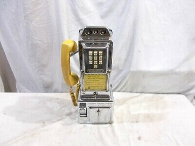 10 Button Original Automatic Electric 3-Slot 1st Touch Tone Payphone