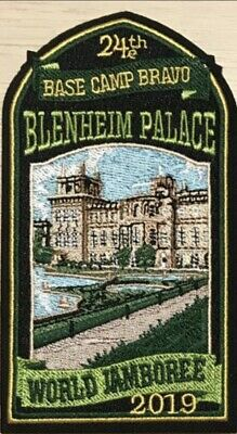 24th World Scout Jamboree BLENHEIN PALACE Subcamp Badge / Patch