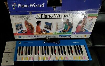 Suzuki Piano Wizard Keyboard with CD's, Cable and Registration code