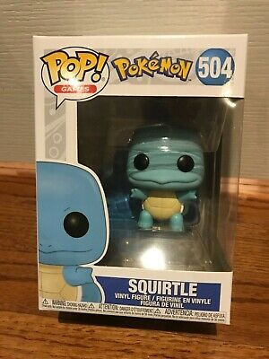 **IN HAND** Funko Pop! Pokemon - Squirtle #504