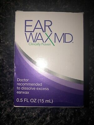 NEW!  Earwax MD Earwax Removal Kit With Rinsing Bulb