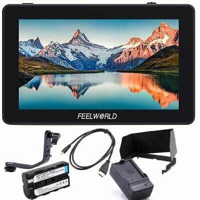 FEELWORLD F6 PLUS 5.5inch 3D LUT Touch Screen HDMI Field Monitor For Camera