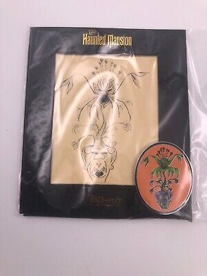 D23 Disney Expo 2019 Dream Store Haunted Mansion 50th Flying Bat Plant Pin (AAA)