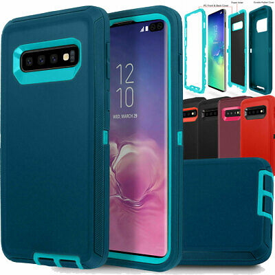 Samsung Galaxy Note 10 Plus S10 Plus S10E  Case Shockproof Hybrid Rugged Rubber