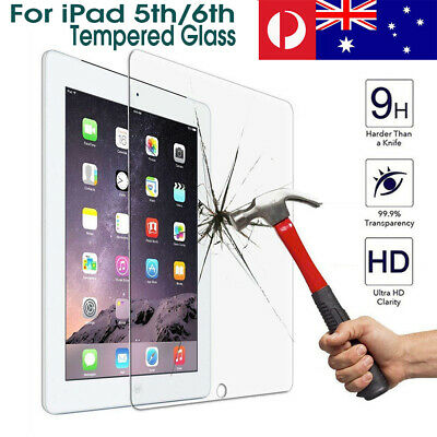 9H Tempered Glass Screen Protector For 9.7inch iPad 5/6  Gen 2018 A1893/A1954