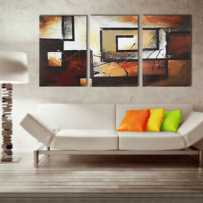 3Pcs Modern Abstract Canvas Print Wall Art Painting Picture Poster Home Decor