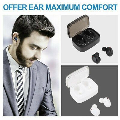 TWS Wireless Bluetooth Headset Earphone In-Ear Earbuds Headphone for Android/IOS