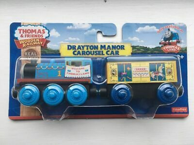 Thomas the Tank Engine wooden train Drayton Manor Carousel special edition rare