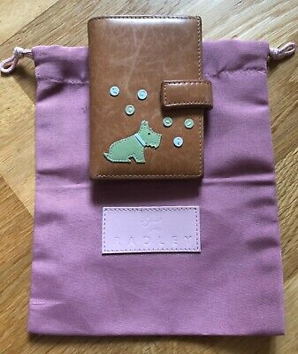 RADLEY 'Bubbles' tan leather wallet with credit card insert. With dust bag.