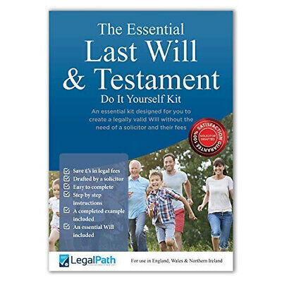 The Essential Last Will and Testament (Do It Yourself Kit UK) 2019...
