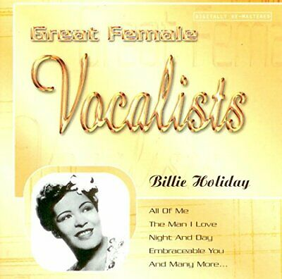Billie Holiday - Great Female Vocalists (CD)